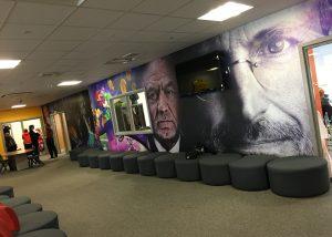 Academy wall wrap