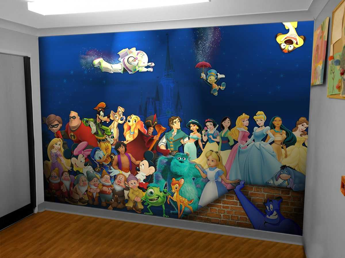 Autistic centre wall wrap