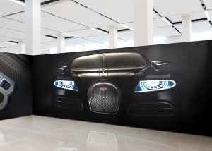 Car wall wrap