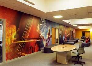 Corridor wall wrap
