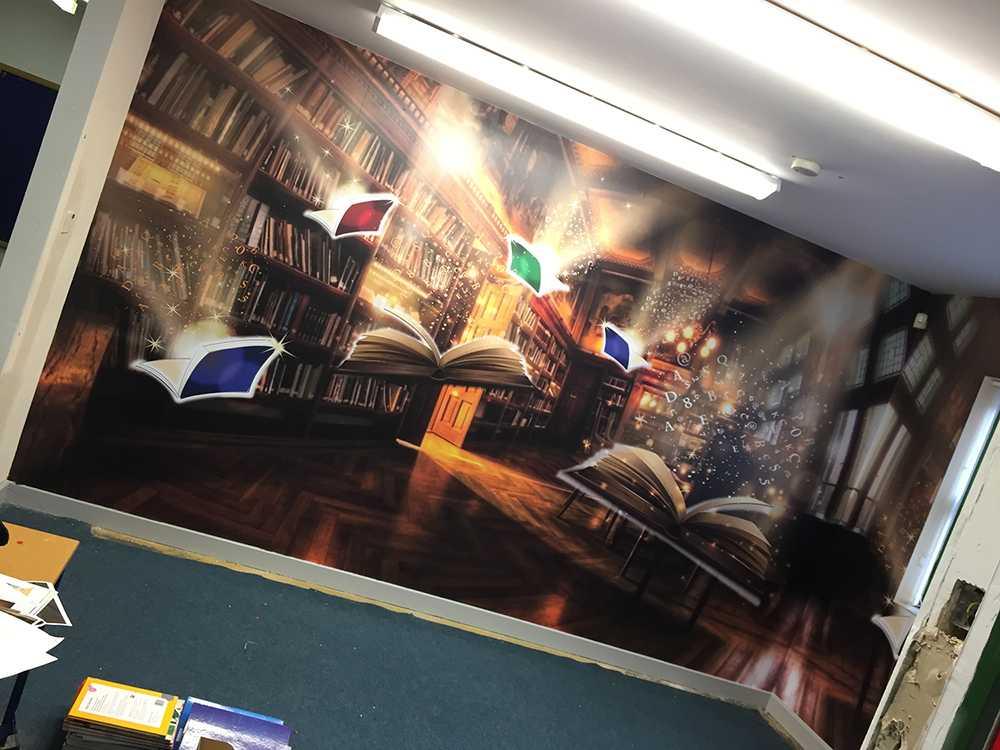 School wall wraps