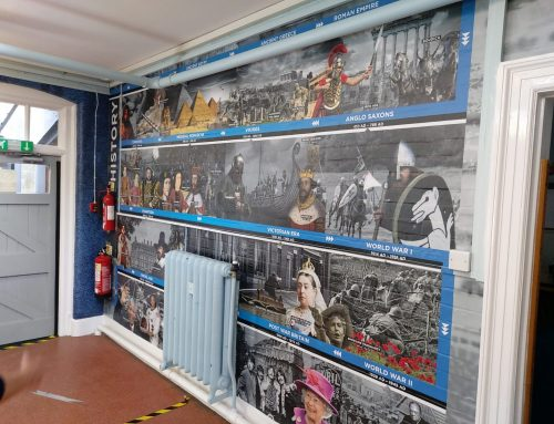 School Wall Wrap